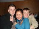 я, Тахмина и еще какой то Перец:) Ресторан Сказка корпаративная вечеринка в честь победы ресторана