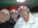 Три деда мороза!С НОВЫЙ ГОДОМ!!!!