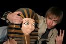 гризли на фараоне!