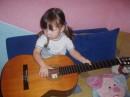буба моя с моей гитарой =)