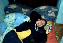 """Эт мой друг и бывший однокласник Вадик со своей """"пьяной"""" половинкой, которая вырубилась во время просмотра фильма"""