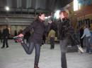 С начальницей на коньках 28.12.07