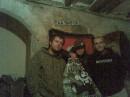 Качество не очень, но тут я с Челсии Изюмом, барабанщиком Plush Fish (((=Ы=)))