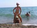 Я на море с мамой и тетей