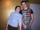 бильярд. Я+Леша 01.01.2005
