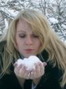 я дождалась снега!
