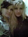 я с подругой Настёнкой)
