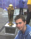 Я и кубок Украины по футболу...
