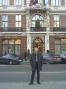 Во Львове красивая архитектура - ето отель в центре горада