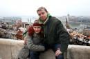Будапешт с высоты Рыбацкого бастиона. Не видно?.. Ну и ладно. :)