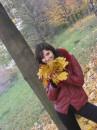 Осень в Киеве.....Падающие листья......