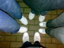 White тапочки.гы))))))))
