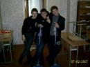 3 моих одноклассника-Руся, Сашка и Макс.