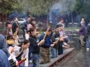 Пекин. Перед входом в храм.