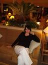 Мамуля в холле гостинницы.
