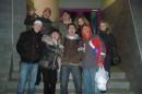 После вечеринки! Наш творческий коллектив! 8февраля 2008 года))