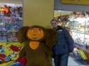 Я и мой друг ЧЕБУРАШКА............