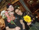 Я и Настя. Када-то летом))