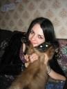 любимая )) с любимым... )) котом