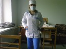 я на практике в военном госпитале:)