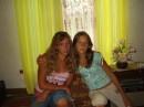 Я с подружкой на даче))