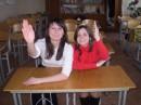 мои веселенькие подруги ботанят)))