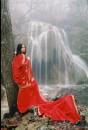У водопада в Крыму