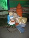 ево на счастье надо было пацеловать:)))