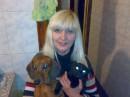 Мои домашние зверушки: собака - Чита и кошка - Сура.