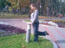 это прошлым летом,в парке)))фоткала позитивище))