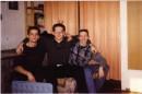 мои бывшие однокласники Алан и Сергей и Я =слева