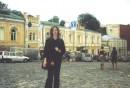 Моя  любимая  у лица  в Киеве-Андрееский  Спуск!