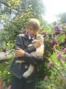 Я со своим котом на 1 сентября..))) БЕЗ ОЧКОФФФ!!!!....)))))
