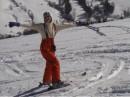 """А это в Карпатах. Первые """"шаги"""" на лыжах."""