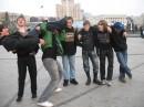 ну мы выбирали как фотаться)))