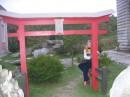 в китайских воротах