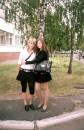возле родной школы)))