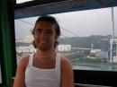 Канатная дорога, ведущая с о.Сентоза в г. Сингапур, это Вам не в Отраде прокатиться 2 минуты :)