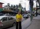 Центральная улица города Патонг на о.Пхукет :) Ничем не примечательно, но достаточно колоритно! Особенно провода, хаотично висящие на столбах