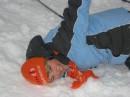 как я на лыжах училась кататься...
