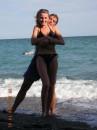 Это я на Массандровском пляже