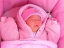Папа называет меня розовым гномом, а мама - розовым облачком.
