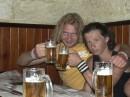 Я и мой дядя в Гамбринусе (Одесса).