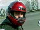 в шлеме
