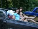 я с Сестрой в лимузине!
