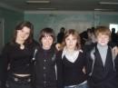Начиная слева: Я,Толик,Масяня(маринка),Рыжик =)