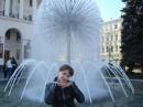 У любимого фонтана...