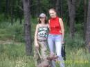 мы с мамой в лесу