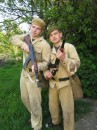 You in the army now))