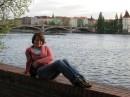 Берег реки Влтава. Прага, май, 2008.